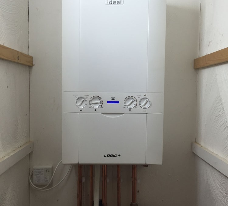 New Logic+ Combi Boiler Installation
