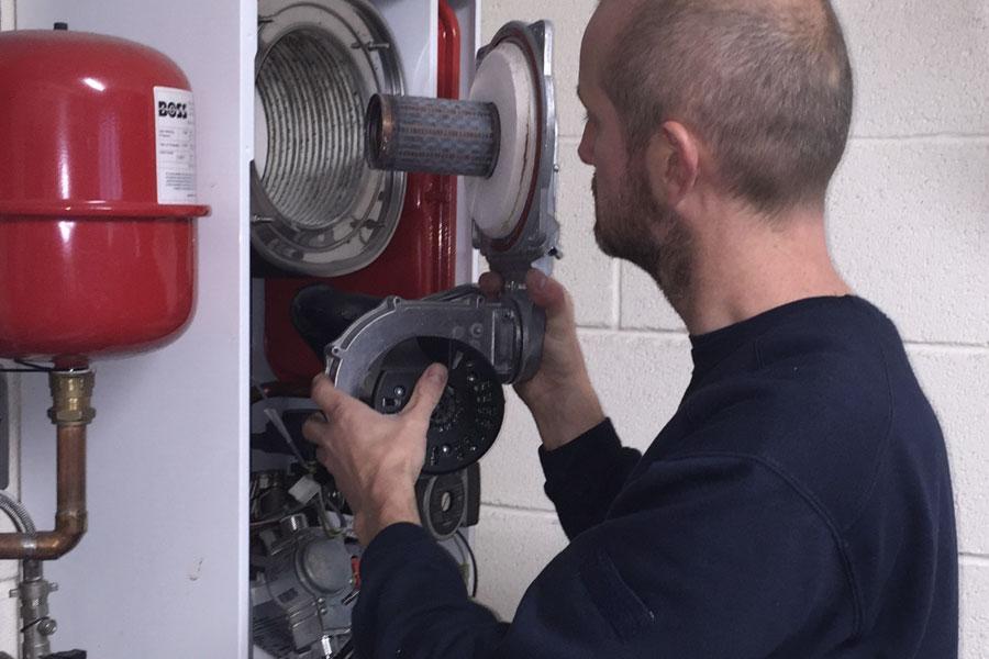 Matthew Scanlon Plumbing and Heating Servicing Combi Boiler