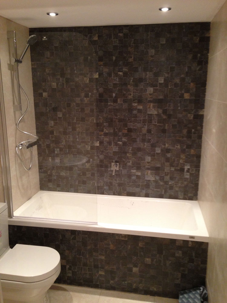Porcelanosa bathroom suite installation and tiling - How do heated bathroom floors work ...
