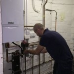 Matthew Scanlon Plumbing and Heating servicing Vaillant boiler and heating system