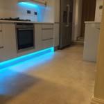 Matthew Scanlon Plumbing and Heating underfloor heating in kitchen