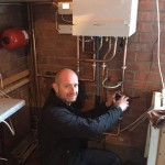 Matthew Scanlon Plumbing and Heating replacing old boilers