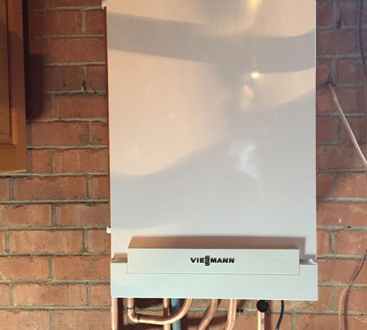 New Viessman 30kw System Boiler Installation