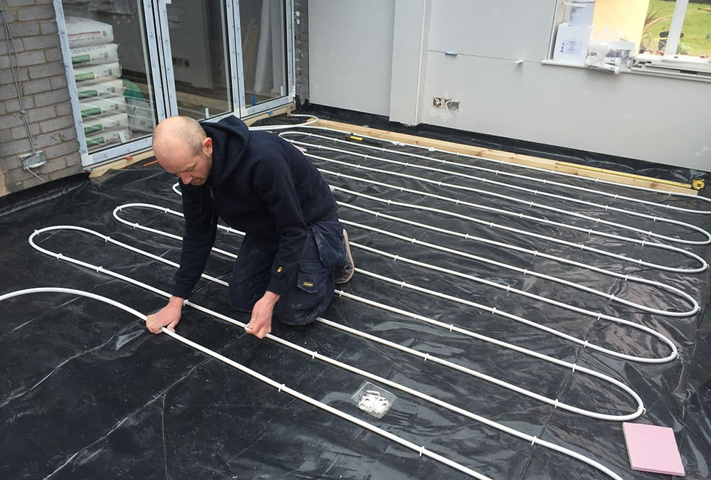 Speedfit Aura under floor heating system
