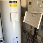 Matthew Scanlon Plumbing and Heating Greenstar 30i system boiler photo