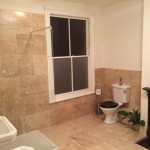Matthew Scanlon Plumbing and Heating Victorian Bathroom Suite with Walk-in Shower and Tiling